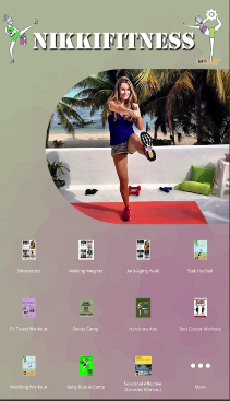 NikkiFitness App Cover Image